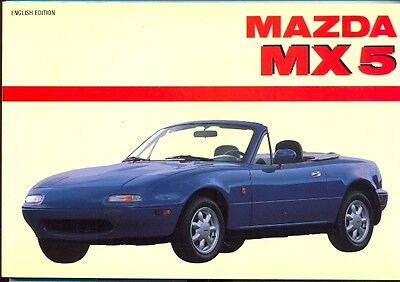 Mazda MX-5 Series 1 - out-of-print book by Automobilia