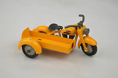 """Tekno #763 """"Harley"""" Motorcycle With Container Side Car Denmark 3"""" Long Excellent"""