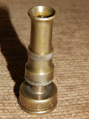 "Vintage 3"" high Brass Garden Hose Nozzle Signed; Challenger, not tested! • CAD $6.29"