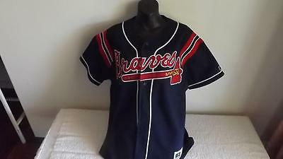 Atlanta Braves  Offical Russell Jersey(33 Jordan) Like New Cond Size M