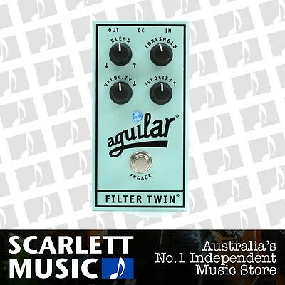 Aguilar Filter Twin Envelope Filter Bass Pedal *BRAND NEW*