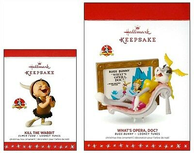 2016 Hallmark Looney Tunes Kill the Wabbit Limited Edition What's Opera Doc Set!