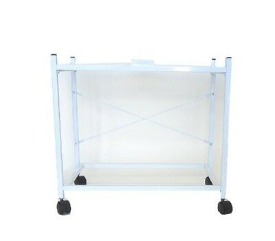 """YML 2 Shelf Stand for 2424 & 2434 White 4124WHT Bird Cage Stand 24"""" x 16"""" x 28"""""""