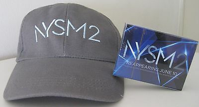 Now You See Me 2 Nysm2 Official Promotional Baseball Cap Hat Playing Cards New!!