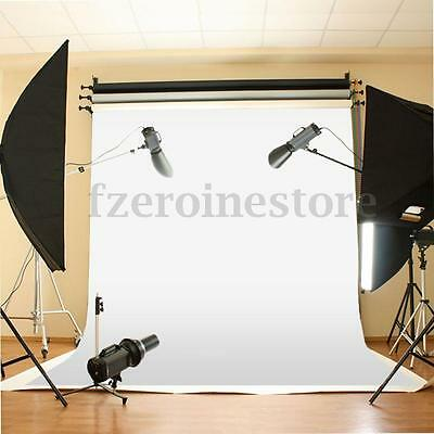 10x10 ft White Backdrop Background Photo Stand Muslin NEW