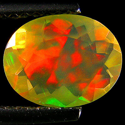 1.13Ct EXTREME DAZZLER ! RAINBOW MULTI FLASHY PATCHWORK FACETED WELO OPAL