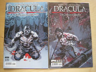 DRACULA : The COMPANY of MONSTERS #s 1 & 2 by BUSIEK & GREGORY. BOOM.2010