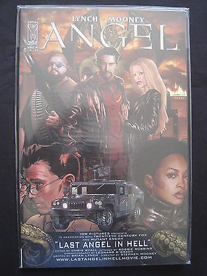 ANGEL (BUFFY) LAST ANGEL in HELL : COMPLETE ONE-SHOT by LYNCH & MOONEY. DH.2009