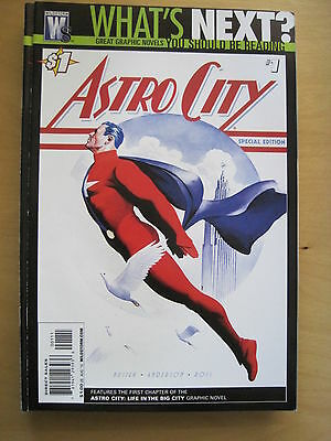 WHAT'S NEXT? Special Edition DC PREVIEW Series ASTRO CITY 1 by BUSIEK, ROSS etc