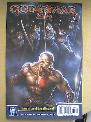GOD of WAR 3. BASED ON THE SONY VIDEO GAME. By WOLFMAN & SORRENTINO.DC / WS.2010