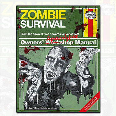 Zombie Survival Manual (Owners Apocalypse Manual) Sean T. Page 9780857334732 NEW