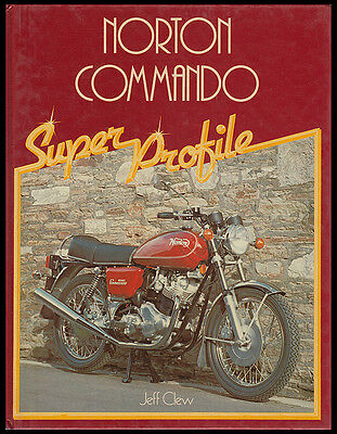 Norton Commando Motorcycle Profile Book Manual Fastback Roadster Jpn Interstate