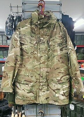 170/88 NEW - British Army Issue PCS Windproof MTP Camo Hooded Combat Smock Cadet