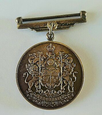 WWII Canada Silver Voluntary Service War Medal