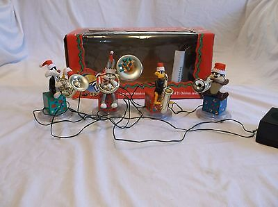 Looney Tunes Bugs Bunny Brass Band Christmas Musical Decoration
