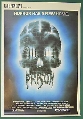 PRISON (1987) Original Belgian Cinema Movie Poster - Lane Smith, Viggo Mortensen