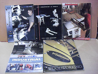 Assorted JET & Powermatic Catalogs