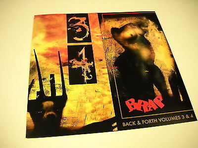 SKINNY PUPPY Extended PROMO DECORATOR DISPLAY FLAT Back & Forth V3/4 mint cond.