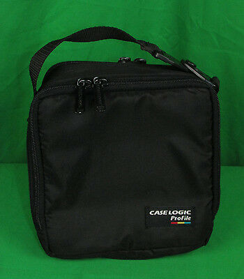 Case Logic PROFILE CD Carrying Case Travel Bag for Portable Compact Disc Player
