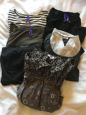Large Bundle of Seraphine Maternity Clothes and Nursing Tops