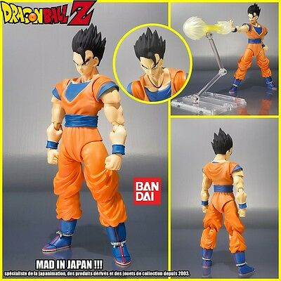Bandai S.h. Figuarts Dragonball Z Ultimate Son Gohan Action Figure & Display Set