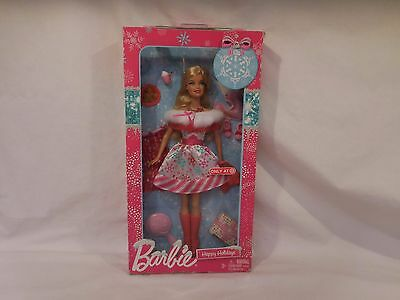 Barbie 2011 Target Exclusive Happy Holidays Doll  Mint in the Box!