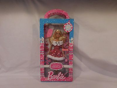 Barbie Target 2011 Dressed in Snowflakes Exclusive Happy Holidays Fashion Doll!