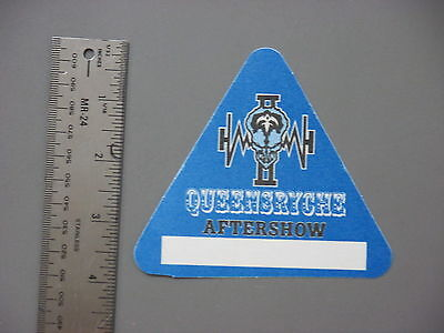 Queensryche backstage pass blue triangle !