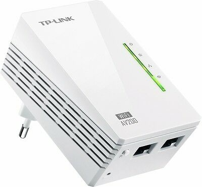 TP-Link TL-WPA2220 WLAN Powerline (WLAN Repeater, 200Mbit/s, 2-Port)