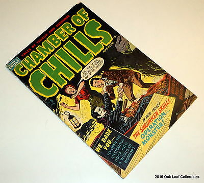 Chamber of Chills 5 Harvey comic Book Pre Code Horror 1952 Decapitation VG