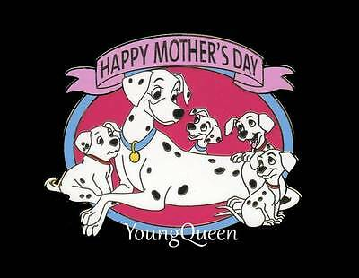 DSF Disney 101 Dalmatians Mother's Day Perdita with Puppies Surprise Le 400 Pin