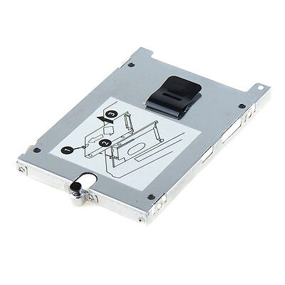 Hard Drive HDD Caddy Case Disk Tray Cover with Screw for HP EliteBook 2760P LSRG