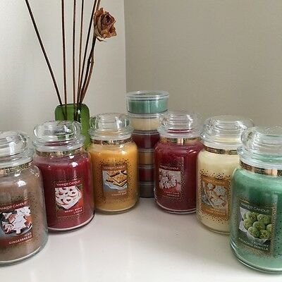 YANKEE CANDLE - Cookie Swap Collection - Large Jars 22oz