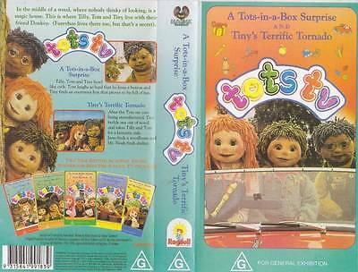 Tots Tv Volume 3 And 4    Vhs Video Pal~A Rare Find