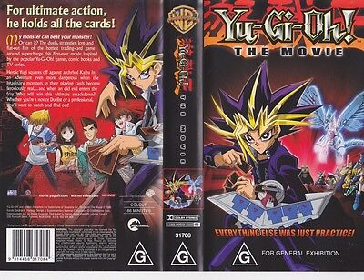 Yu-Gi-Oh The Movie   Vhs Video Pal~ A Rare Find~