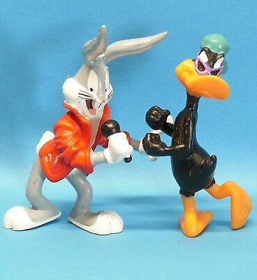 Bugs Bunny & Co :  Bugs singend + Daffy Duck tanzend Looney Tunes BULLY 1999
