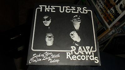 The Users.sick Of You.7'' Vinyl