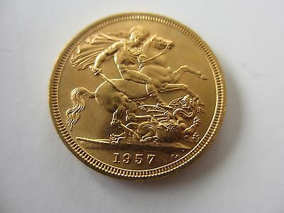 1958 Queen Elizabeth Full Sovereign Uncirculated