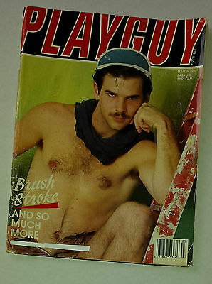 Playguy March 1987 gay Lifestyle Magazine
