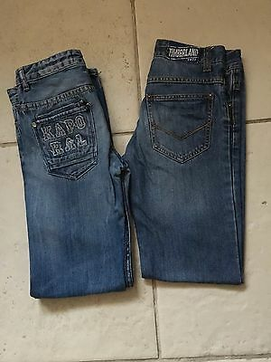 2 Jean Kaporal Timberland Taille 12 Ans