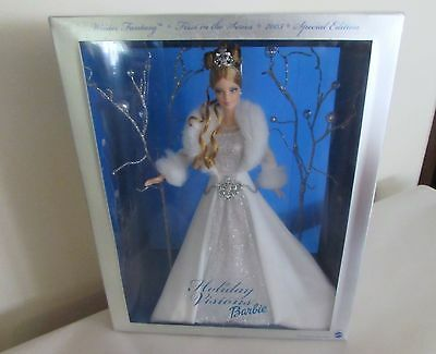 Holiday Visions Winter Fantasy 2003 Barbie Doll