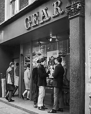 "Carnaby Steet 1960s Mods 10"" x 8"" Photograph no 2"
