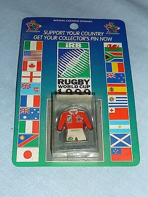 Wales Official Rugby World Cup 1999 Pin Badge