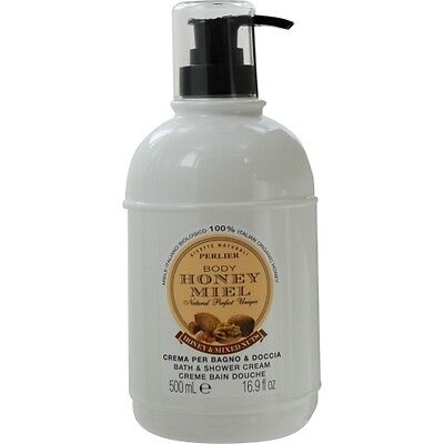 Perlier Honey And Mixed Nuts Bath & Shower Cream--16.9oz