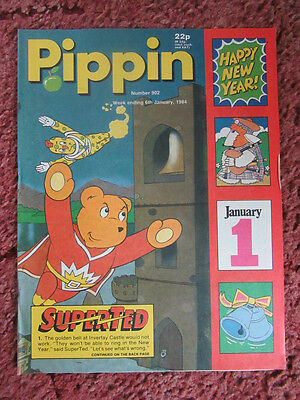 Pippin Comic 6 January 1984. No. 902. Nr Mint.  Unread Unsold Newsagents Stock.