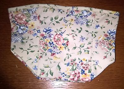 Tall Tissue Basket Liner from Longaberger Spring Floral fabric! New!
