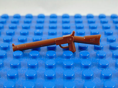 Lego-Minifigures Series [5] 1 X Brown Rifle For The Royal Guard Series 5  Parts