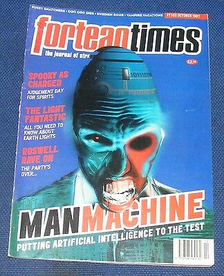 Fortean Times Ft103 October 1997 - Manmachine