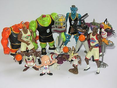 12 Space Jam Basketball Toy Figures Tune Squad v Monsters  Bugs Tweety Jordan