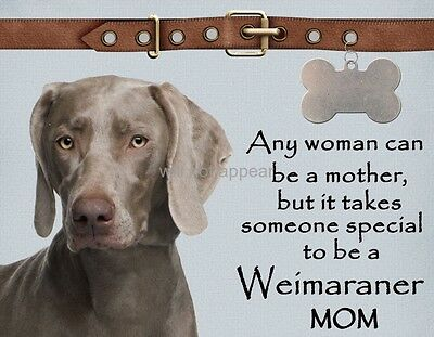 WEIMARANER Anyone Can be a Mother Special Dog Magnet